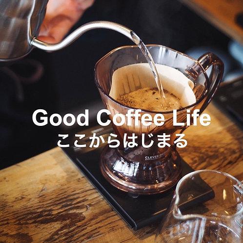 【コーヒー器具付き】クレバードリッパー&人気3品種の飲み比べセット
