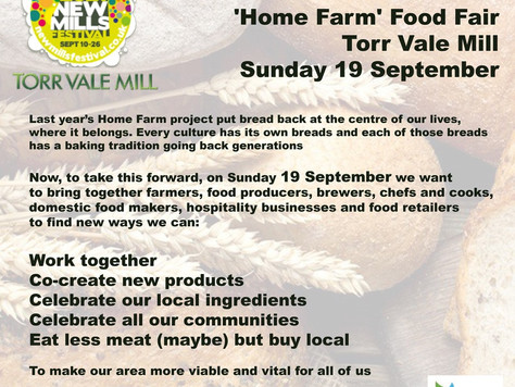The Food Fair comes to Torr Vale Mill!