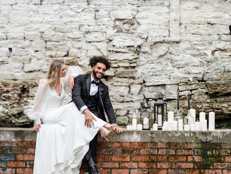 Torr Vale Mill has been featured in Rock My Wedding!