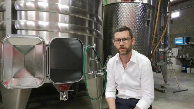 La fermentation du vin