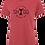 Thumbnail: Ladies Red Tee - Choose your Logo