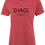 Thumbnail: Ladies Red Tee - Outdoor Life - Choose your Logo