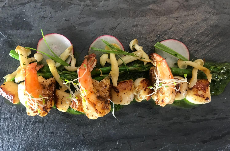 Bay Scallop & Shrimp