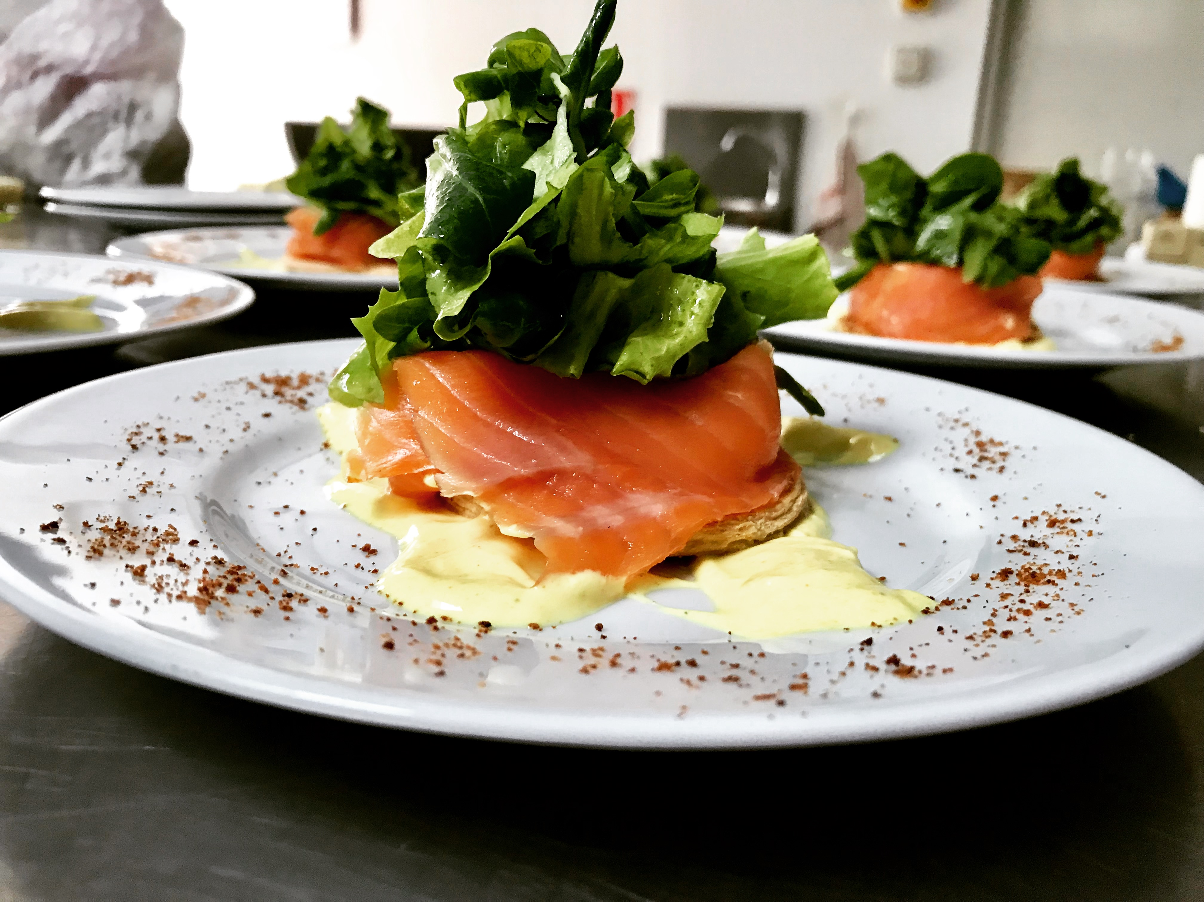 Smoked Salmon Tarte
