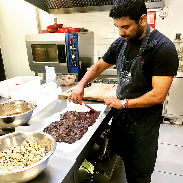 Chef Mohan at Work