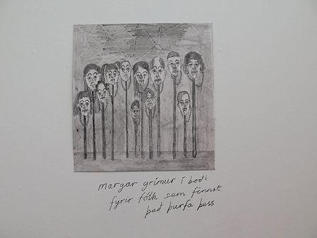 Margar grímur í boði fyrir fólk sem finnst það þurfa þess