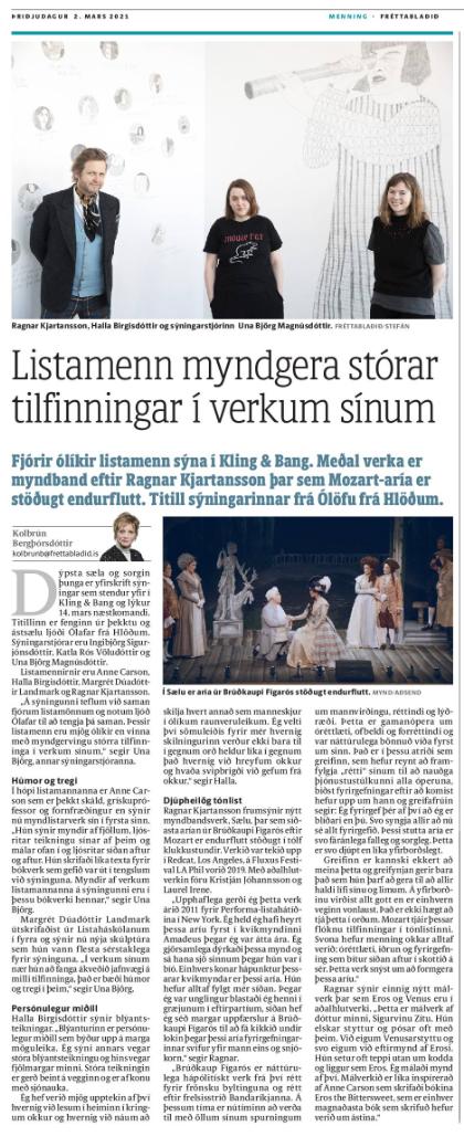 Dýpsta sæla og sorgin þunga