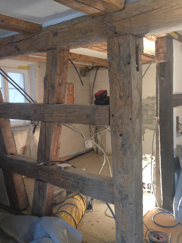 Umbau 300-jähriges Haus!
