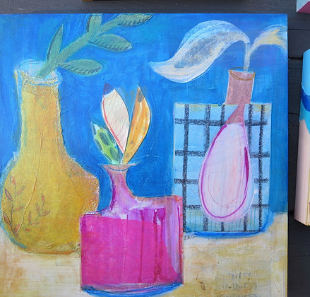 Vases Large Collage