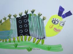 Collage Caterpillar