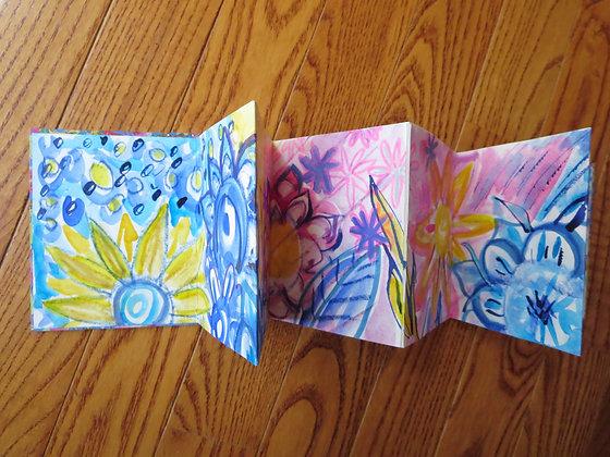 Rainbow Flower Book