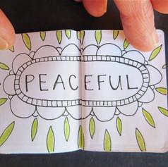 Mini sketchbook for Sketchbook Project