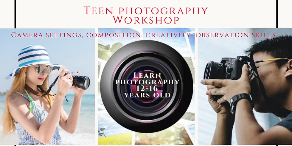 Teen Photography Workshop