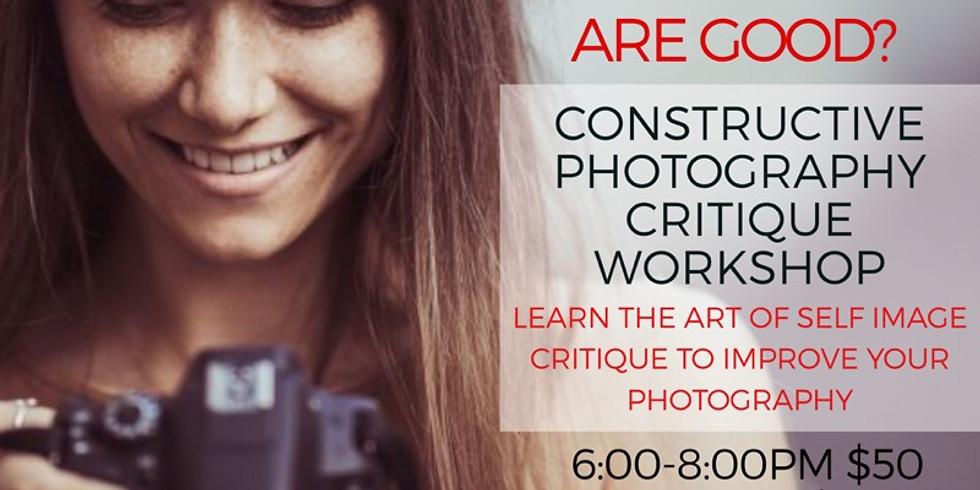 Constructive Photography Critique Workshop