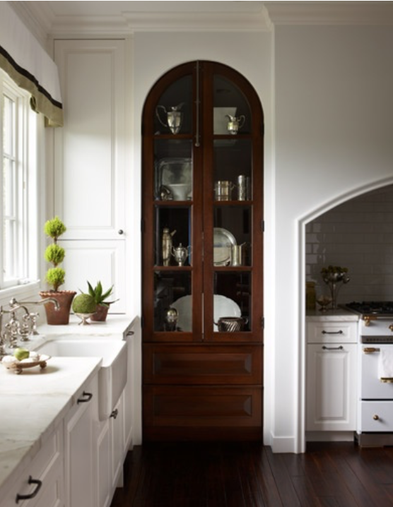 arched pantry doors