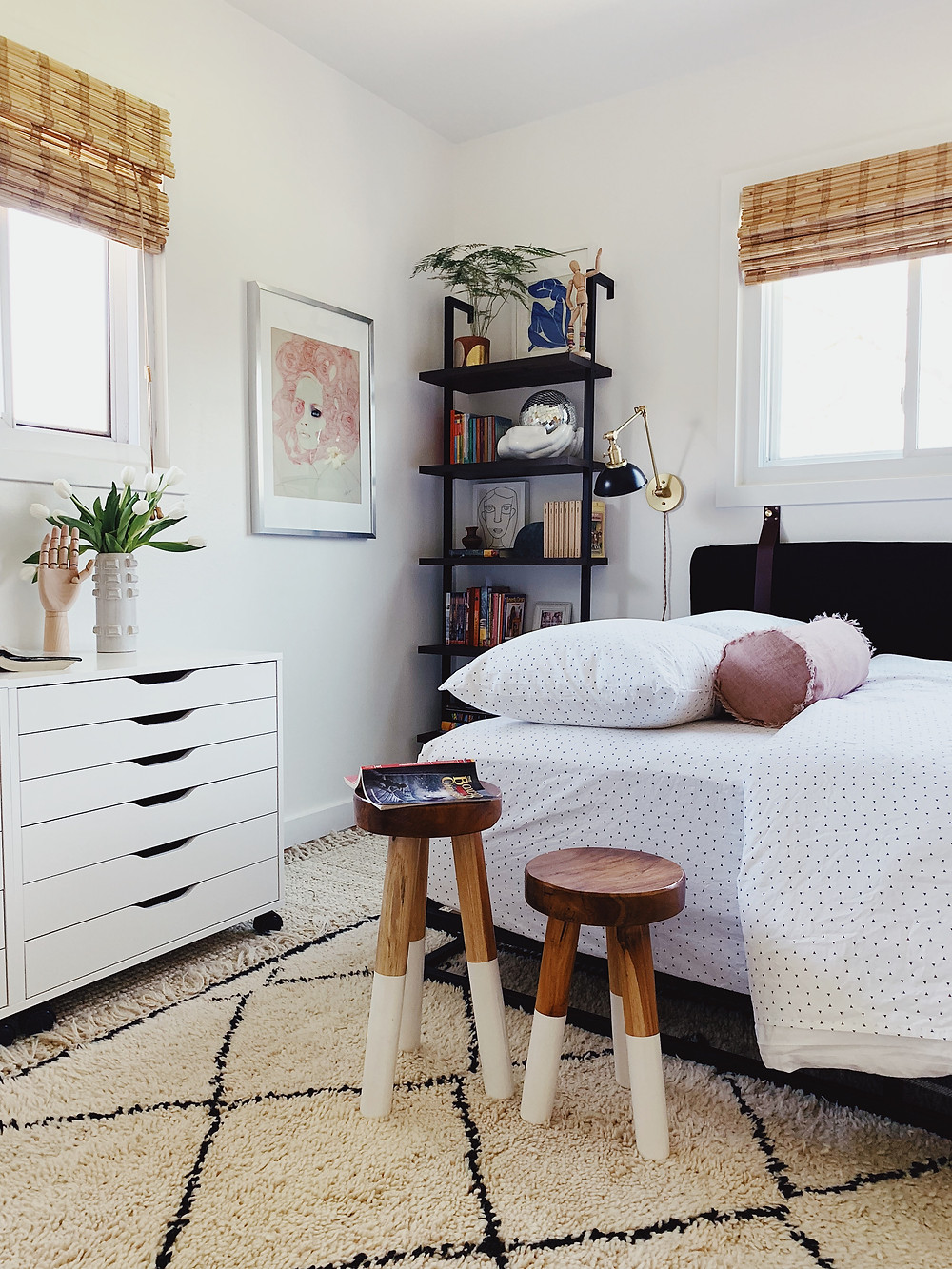 teen room, how to style a daybed