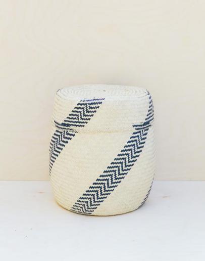 Oaxaca Jarrito lidded basket