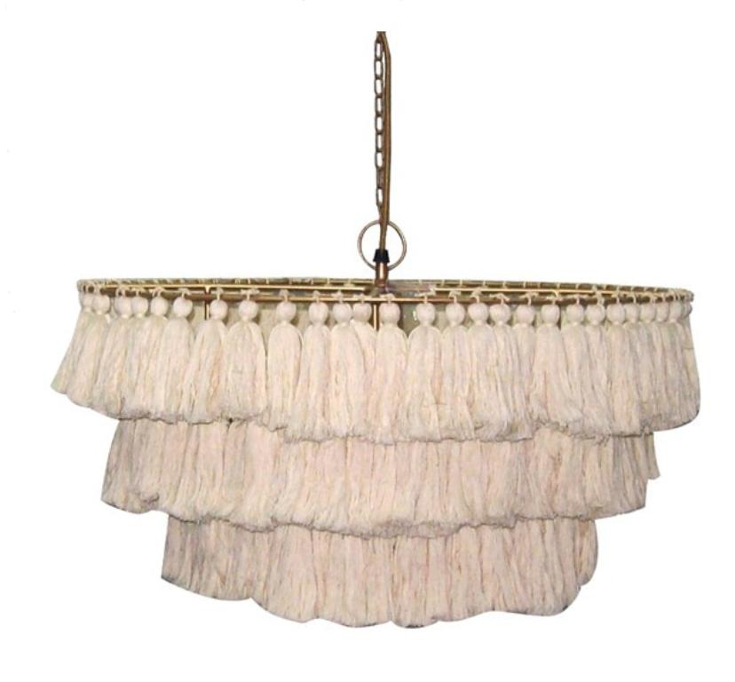 tassel chandelier