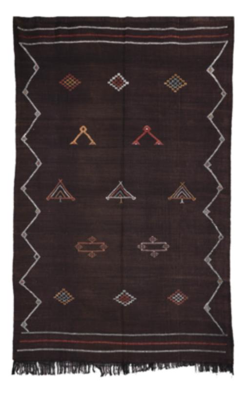 cactus silk moroccan sabra rug