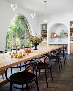 arches in the kitchen