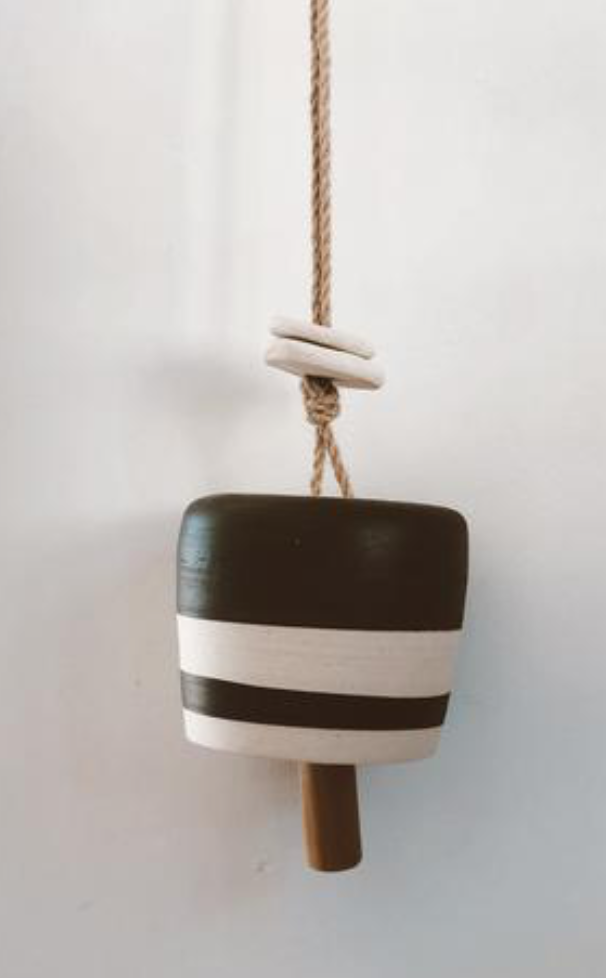 stoneware bell - chime