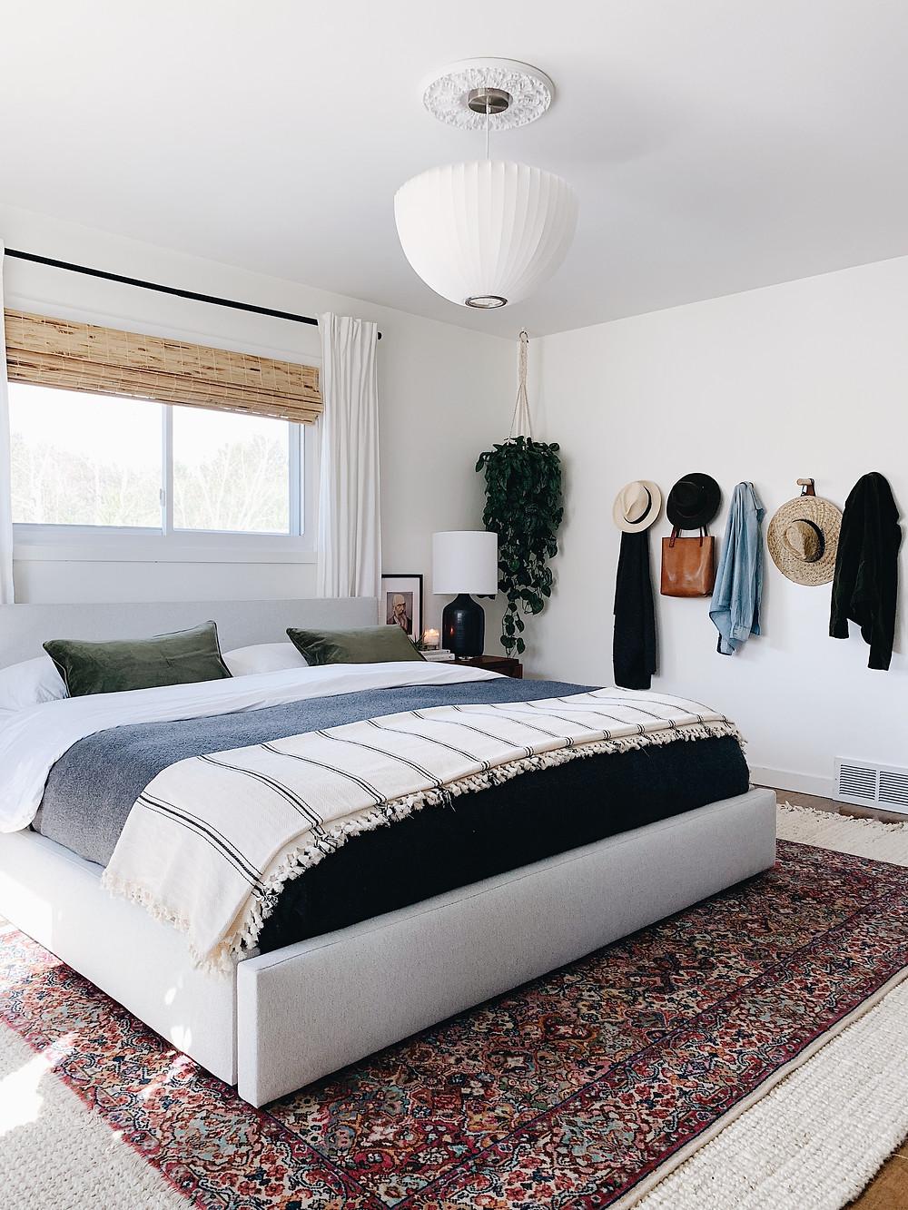 master bedroom, Wyatt bed