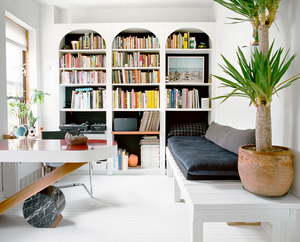 arched bookcases
