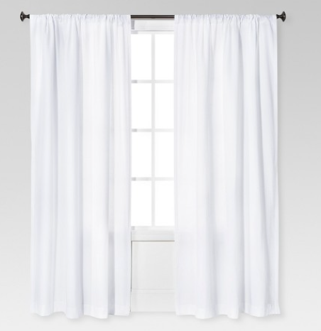 linen look curtains
