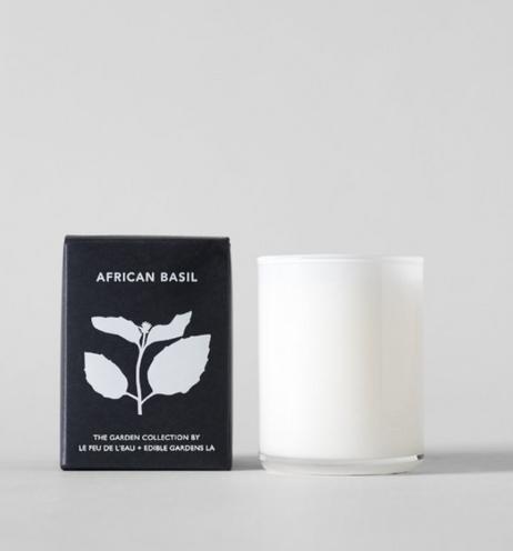 basil candle - bloomist