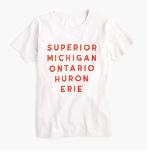 great lakes shirt