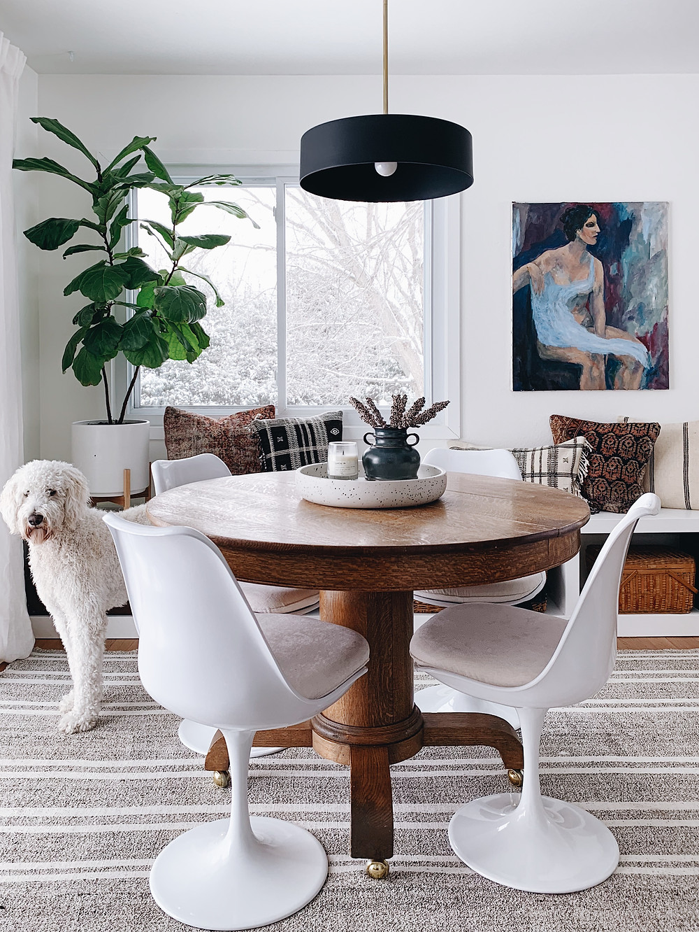 dining nook sources - get the look