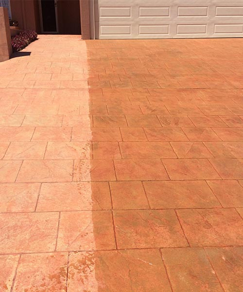 Paving cleaning and sealing