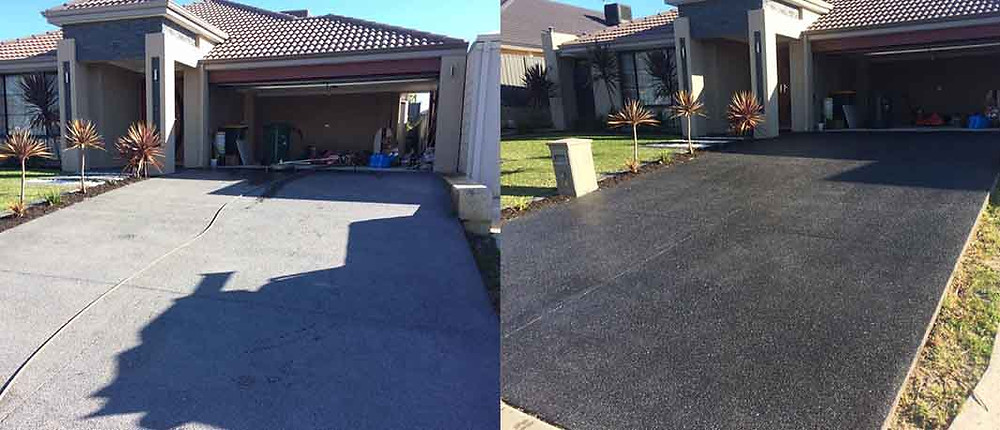 Driveway clean and seal in Perth