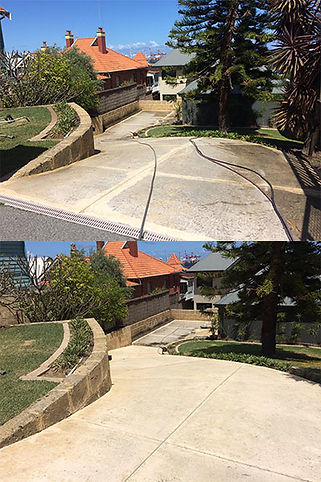 driveway cleaning and sealing perth