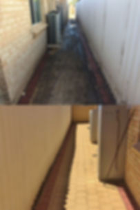high pressure cleaning before and after