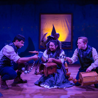 Niusha Nawab, Jordanna Hernandez, and Seth Rosenke