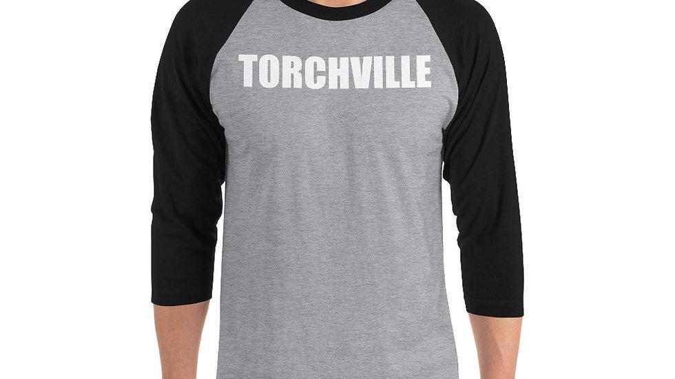 TORCHVILLE 3/4 sleeve raglan shirt