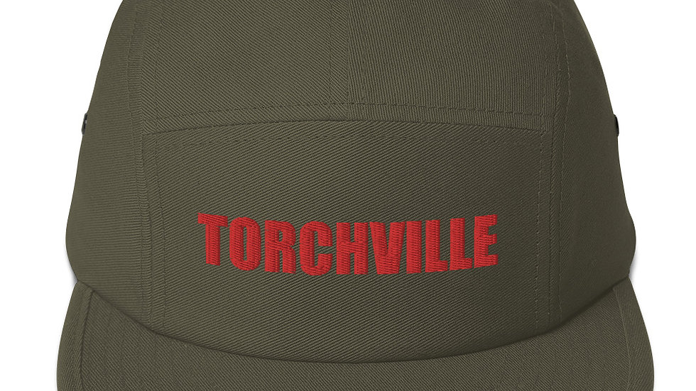 TORCHVILLE RED Five Panel Cap