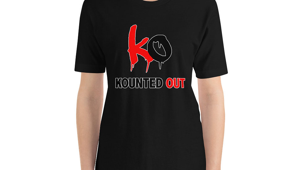 KOUNTED OUT by Rodrigo Santi Red/Black T-Shirt