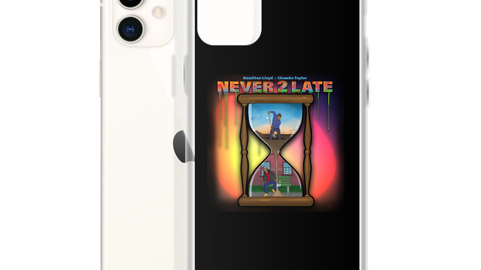 NEVER 2 LATE iPhone Case