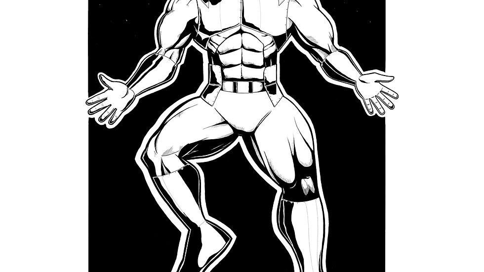 KING The Mutant Hunter PSD,JPEG,PNG