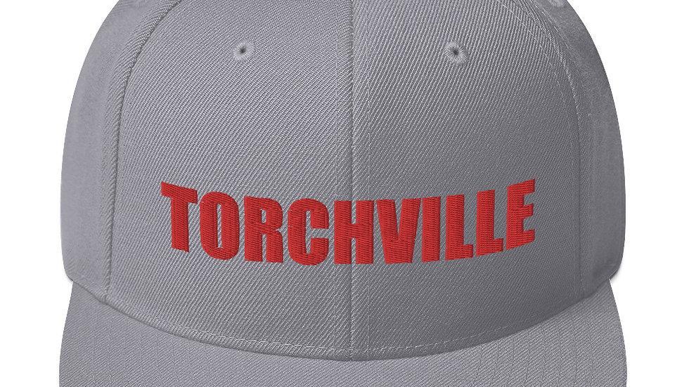TORCHVILLE RED Snapback Hat