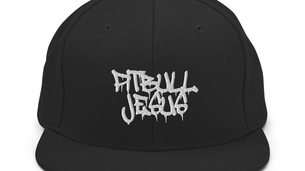 PITBULL JESUS by TORCHVILLE Snapback Hat