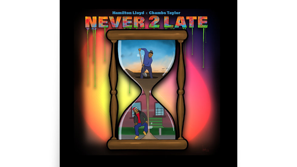 NEVER 2 LATE Poster