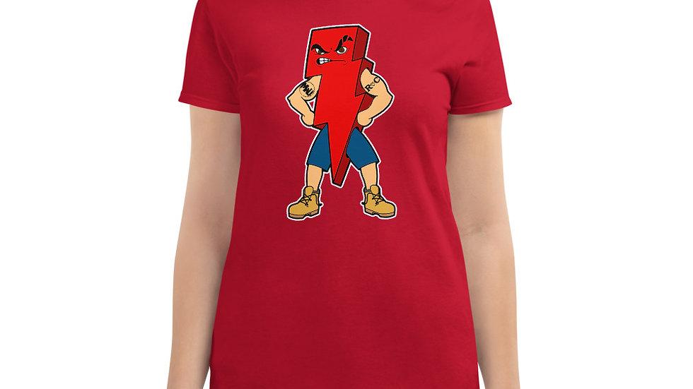 The PETE POWERZ BOLT Women's short sleeve t-shirt
