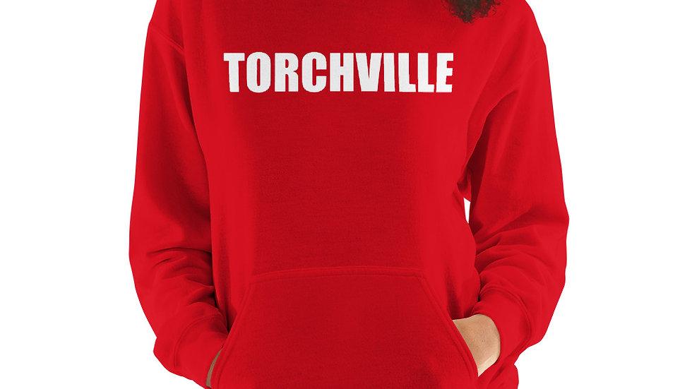 Womans TORCHVILLE RED Hoodie