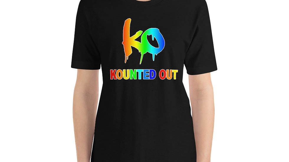 KOUNTED OUT by Rodrigo Santi Rainbow T-Shirt