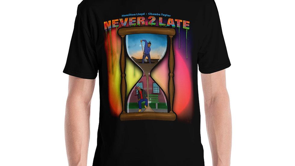 Never 2 Late Men's T-shirt