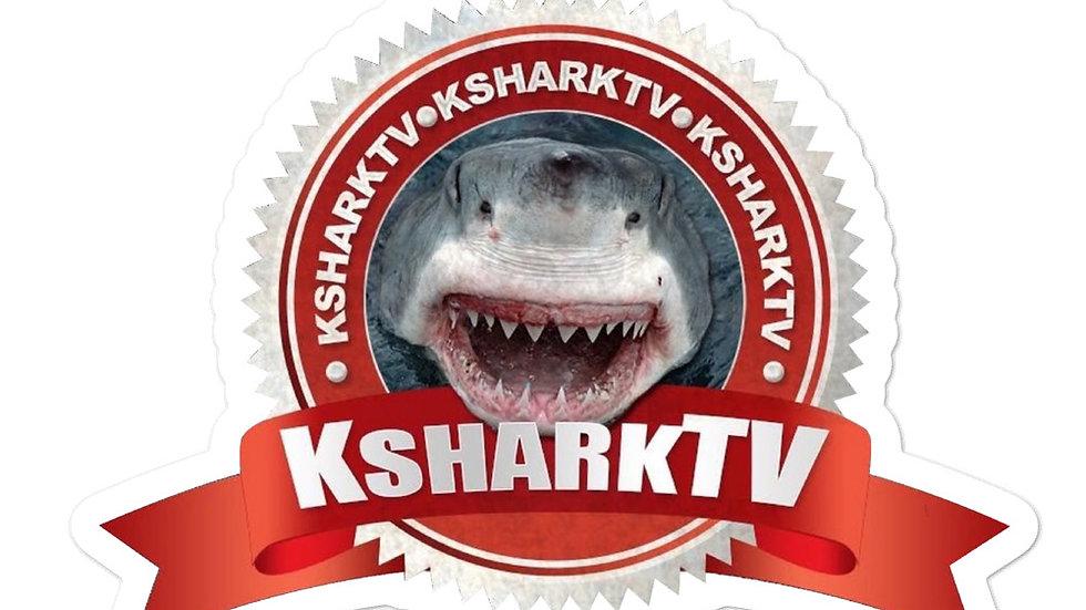 K SHARK TV Bubble-free stickers