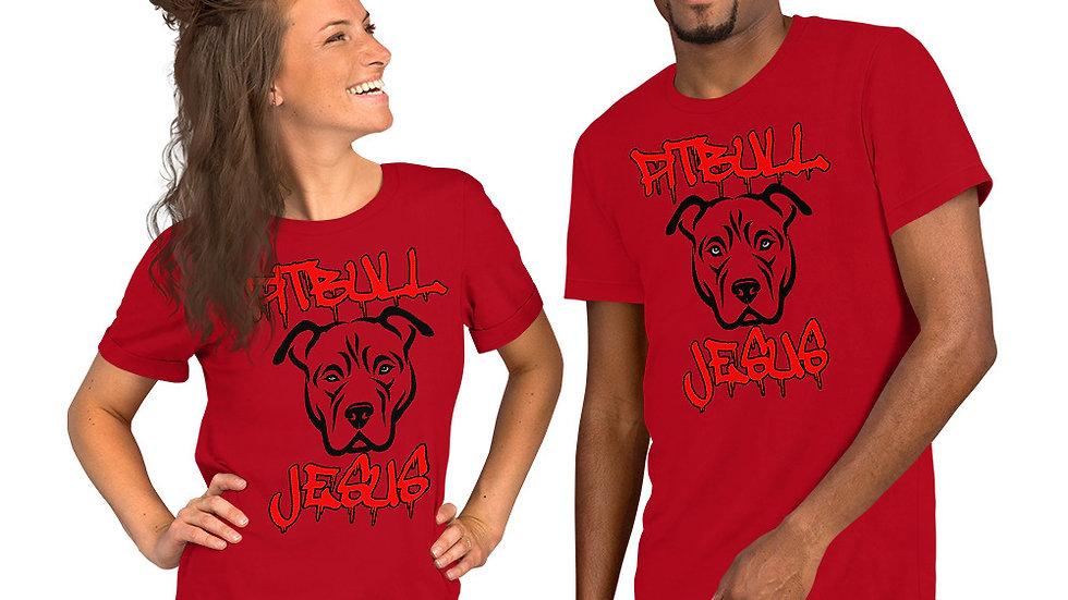 PITBULL JESUS by TORCHVILLE Short-Sleeve T-Shirt